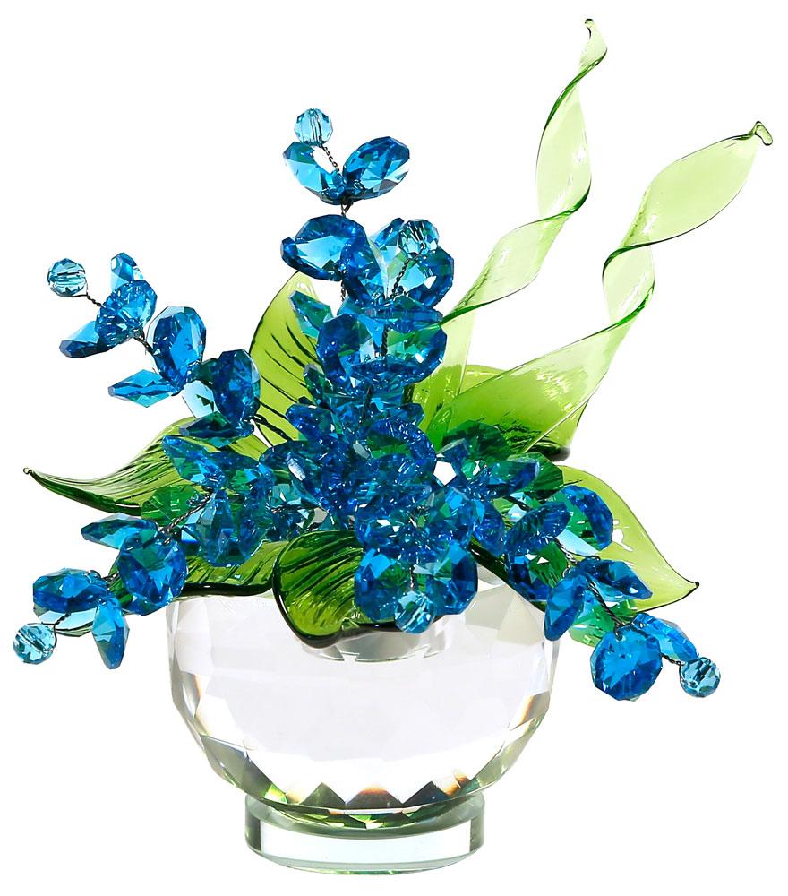 Цветок из хрусталя фото